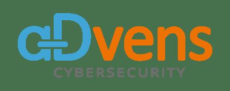 Logo Advens 2020 Bleu et Orange fond transparent